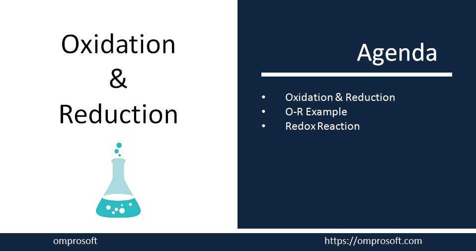 Oxidation-Reduction